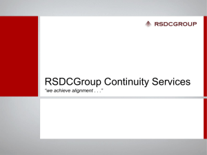 RSDCGroup - Small Business