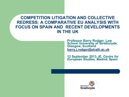 Competition Law litigation in the UK Courts: A study of all cases to