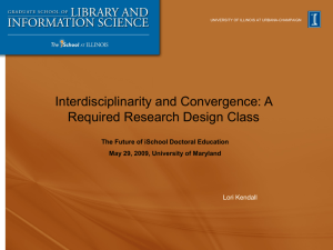 Includes interviewing a faculty member about their research