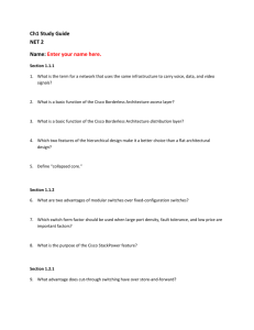 Ch1 Study Guide NET 2 Name