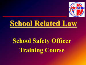 School Related Law - National Association of School Resource