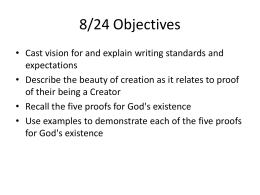 8/24 Objectives