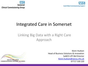 Integrated Care in Somerset