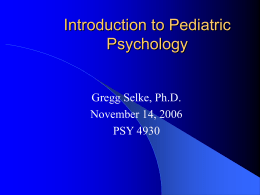 subspecialty of psychology Specialties in psychology specialties and areas of concentration in psychology the apa (american psychological association) recognizes only clinical.