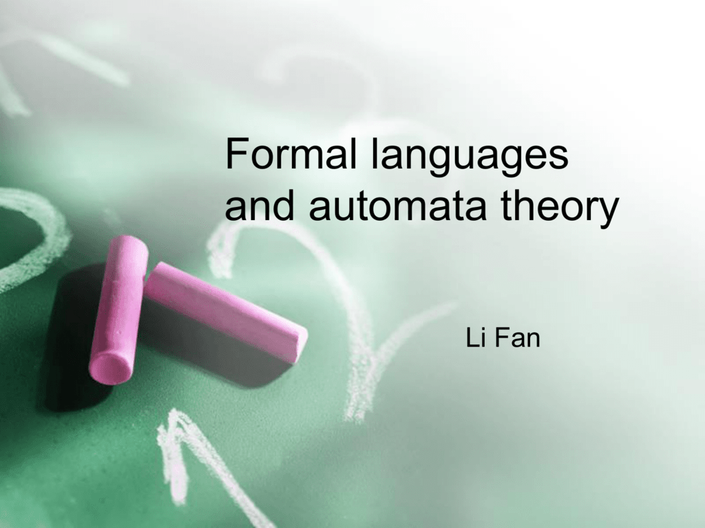 Automata theory: introduction to finite automata and finite.