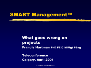SMART Project Management™
