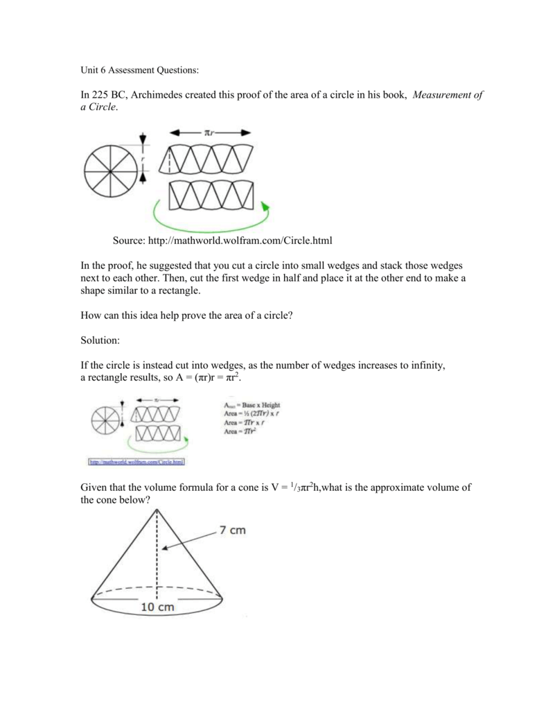 Unit 7 Assessment Questions