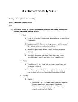 u s history eoc study guide rh studylib net
