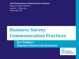 Survey Communication Practices