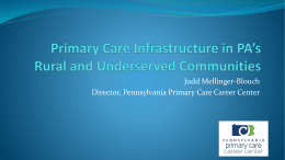 PPT file - Pennsylvania Academy of Family Physicians