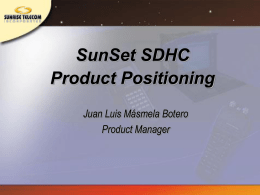 SunSet SDHC update