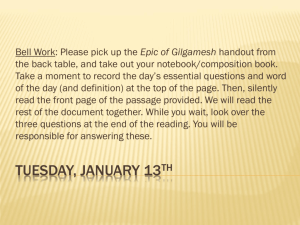 Tuesday, January 13