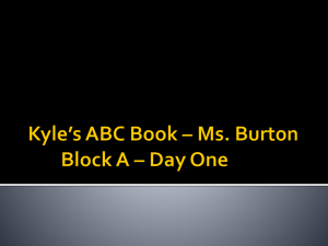 Kyle's ABC Book – Ms