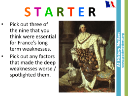 L5 How absolute a ruler was Louis XVI