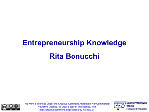 Entrepreneurship Knowledge