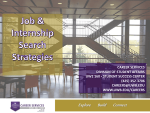 Career Fairs & Events - University of Washington Bothell