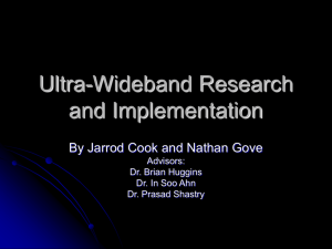 Ultra-Wideband Research and Implementation