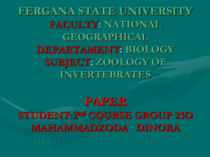FERGANA STATE UNIVERSITY FACULTY: NATIONAL