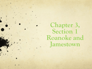Chapter 3 Colonial America for Online