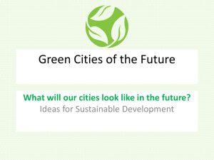 Green Cities Lesson 4, Strategy 4