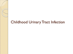 Childhood Urinary Tract Infection (UTI)