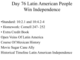 Latin American Independance