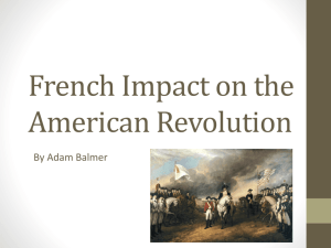 French Impact on the American Revolution