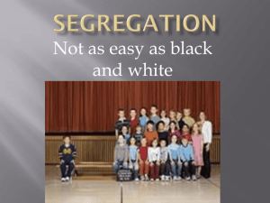 Segregation - Beavercreek City School District