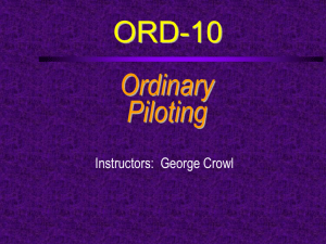 ORD-10: Piloting Bowditch