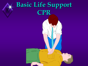 CPR with Zombie vid