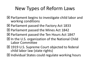 New Types of Reform Laws