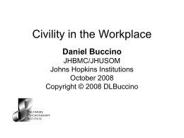 4-Civility In the Workplace