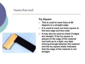 Name that tool - Design Technology