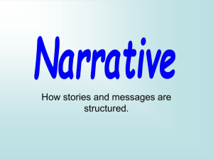 Narrative - Glow Blogs