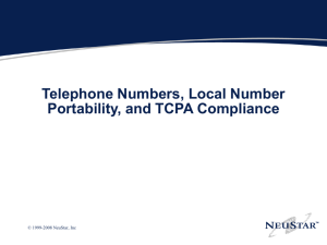 - TCPA Compliance