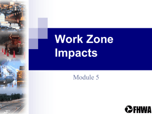 Work Zone Impacts