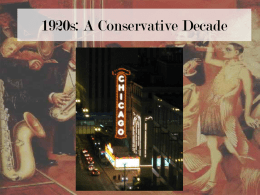 A Republican Decade