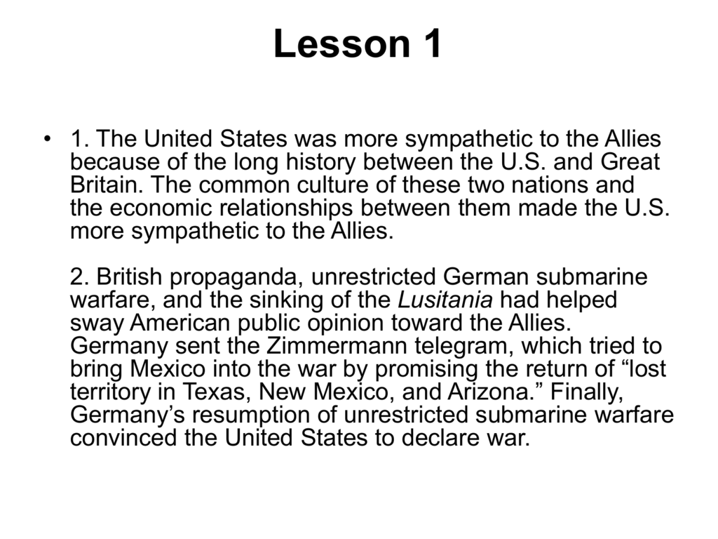why nations go to war summary