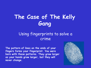 1.The Case of The Kelly Gang