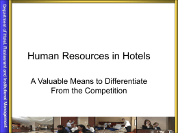 Human Resources (HR)