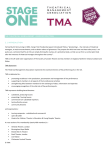 the theatrical management association (tma)