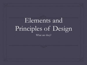 Elements and Principles PPT
