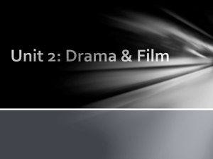 Elements of Drama and Film Notes
