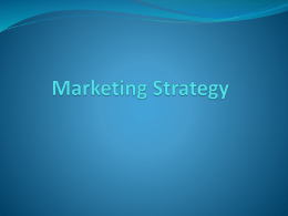 marketing strategy PP