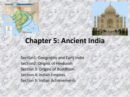 Chapter 5: Ancient India