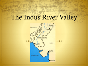 The Indus River Valley - Hewlett