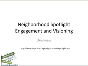 Engagement & Visioning PPT
