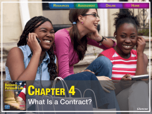 Section 4.1 Agreements and Contracts
