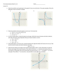 Pre-Calculus Review Sheet 5.1-5.3 Name__________________