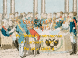 The Concert of Vienna - Oak Park Unified School District